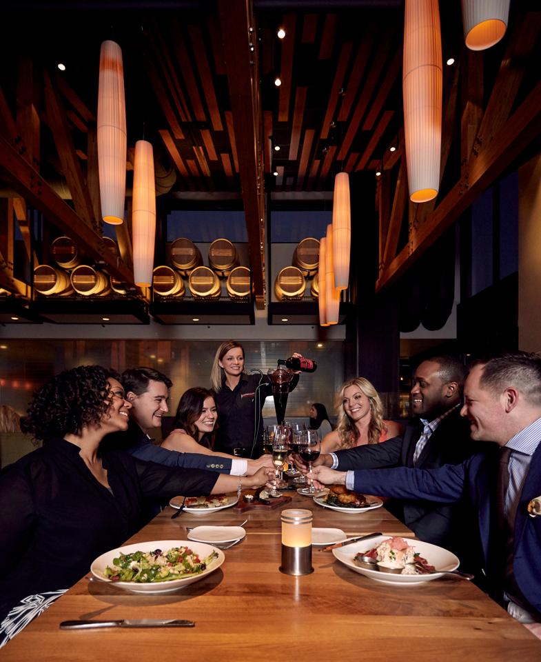 cooper's hawk winery and restaurants, boss magazine
